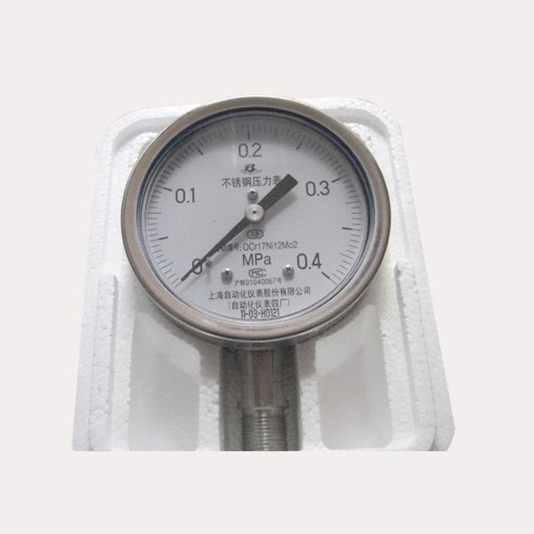 316不銹鋼壓力表