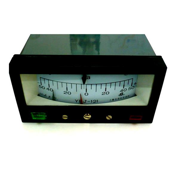 YEJ-121矩形接點膜盒壓力表