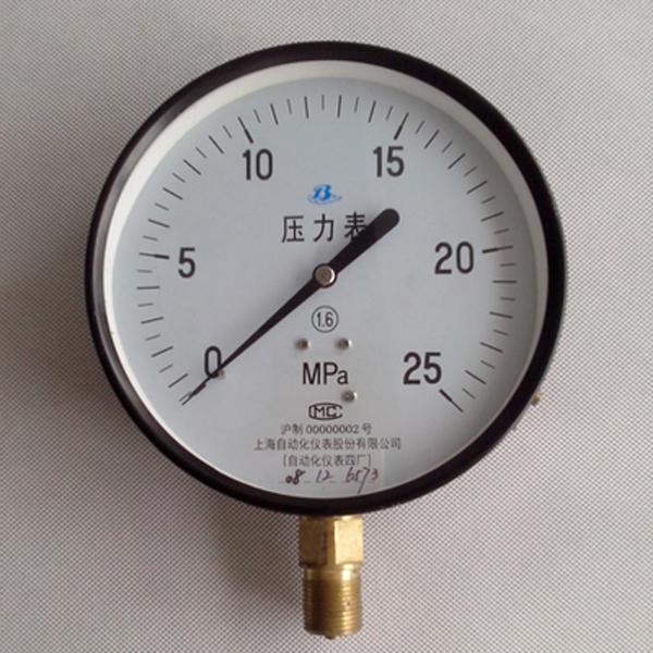 Y-100 Y-150普通壓力表