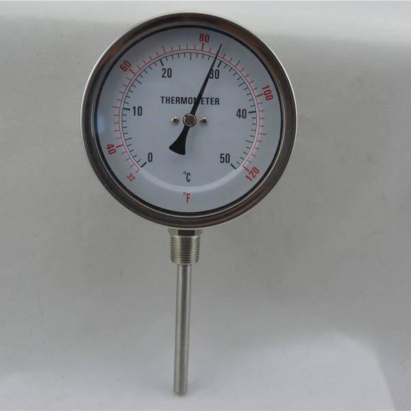 工業雙金屬溫度計
